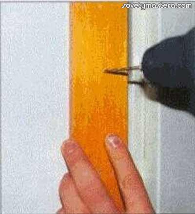 Покраска двери из шпона своими руками пошагово