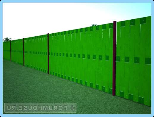 Чем закрыть некрасивый забор своими руками